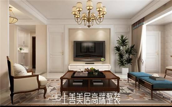【石家庄上善美居装饰】客厅电视墙背景效果赏析